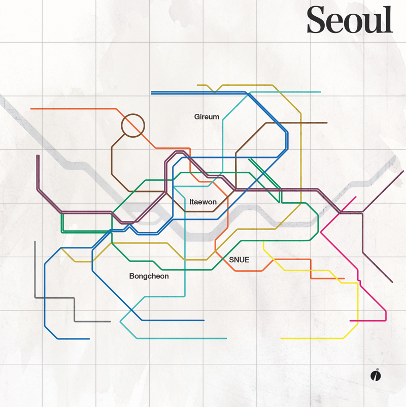 vignelli inspired subway maps bumbleduck