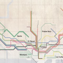 Vignelli Inspired Subway Maps